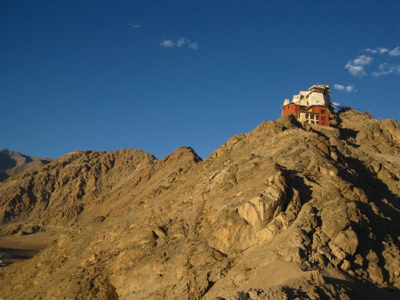 Lonely Leh Gompa