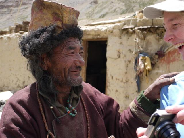 Remembering  Dom  Dom Namgyal in 2011 - my favourite photo. Although we had very little conversation he was clearly a humerous and delightful soul!