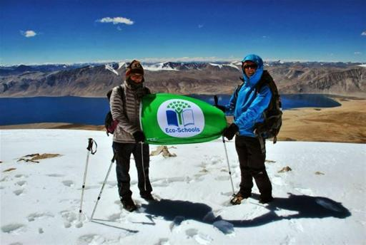 And fly the Eco-Schools flag, the highest its ever been!