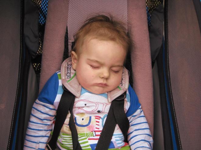Let sleeping babies lie.